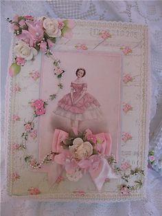 shabby chic machine embroidery designs | Shabby Chic Box & Mini Album | Flickr - Photo Sharing!