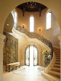 1000 Images About Foyer On Pinterest Foyers Staircases