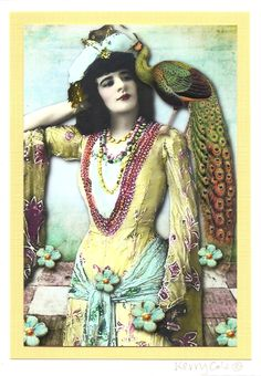 My Bohemian History ~ My Bohemian Aesthetic Source: Kerry Cole We are the music… - Hamsters French Vintage, Vintage Art, Vintage Ladies, Victorian Ladies, Hippie Bohemian, Boho Gypsy, Gypsy Chic, Modern Hippie, Hippie Chic