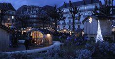 Christmas Market in Grenoble, France