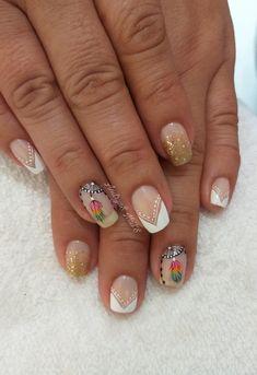 Yuri, Nails, Beauty, Nail Designs, Work Nails, Stickers, Amor, Toe Nail Art, Short Nails