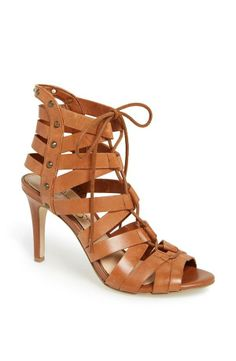 Sexy! Strappy sandals with subtle studs.