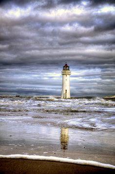 "New Brighton Lighthouse, England .................. #GlobeTripper® | https://www.globe-tripper.com | ""Home-made Hospitality"" | http://globe-tripper.tumblr.com/"