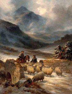 Joseph Farquharson   Victorian Landscape painter   Tutt'Art@   Pittura • Scultura • Poesia • Musica