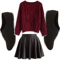 A fashion look from October 2014 featuring boatneck shirt, dark brown skirt and oxford flats. Browse and shop related looks. Oxford Flats, Brown Skirts, Boat Neck, Skater Skirt, Fashion Looks, Dreams, Shirts, Shopping, Style