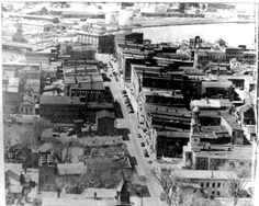 Downtown Ogdensburg before Urban Renewal