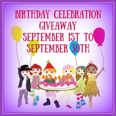 Birthday Celebration Giveaway 9/30 ~ Tales From A Southern Mom