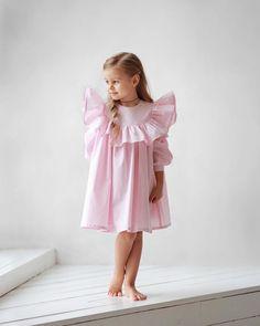 337 отметок «Нравится», 2 комментариев — miko | concept kids wear (@miko_kids) в Instagram: «✨New✨Вкусное,нежное платье в стиле Baby Doll • Состав: 100% хлопок. • Цвета: нежно-розовый,…»
