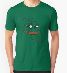 kebuenowilly:  Pepe the Frog Smug t-shirt for dank meme lovers