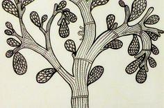 Gond Art by Srivatsan Aravamudan, via Behance