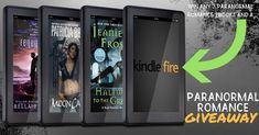 #EPIC #ParanormalRomance #Giveaway – #WIN 3 #PNR #Ebooks and a #KindleFire!