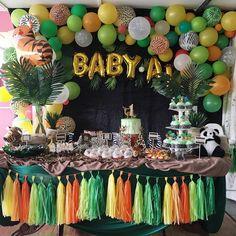 Jungle Safari Birthday Theme