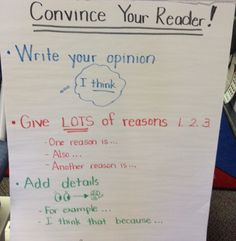 Convince Your Reader!