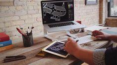 Astropad graphic tablet app para diseñar