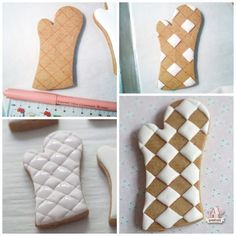 Baking and Kitchen Themed Decorated Cookies How to do royal icing tufting Sweetopia Kinds Of Cookies, Fancy Cookies, Iced Cookies, Cute Cookies, Cupcake Cookies, Sugar Cookies, Baking Cookies, Flower Cookies, Heart Cookies