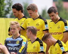 Bilder des BVB-Teamshootings in Brackel.