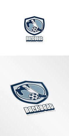 Backbeat Football Community Forum Lo by patrimonio on @creativemarket