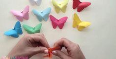 Bricoler de mignons papillons de papier! - Décorations - Trucs et Bricolages