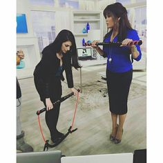 Marie Osmond at QVC with the BodyGym