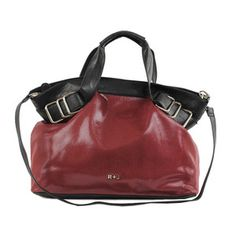 Gianna Satchel Burgundy now featured on Fab.
