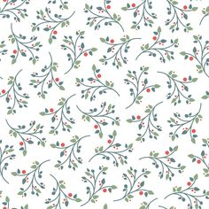sprigged floral pattern (freepik)