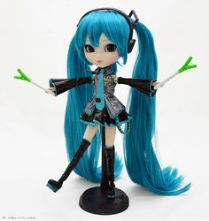 pullip+miku | what is a miku doll without leek d pullip miku
