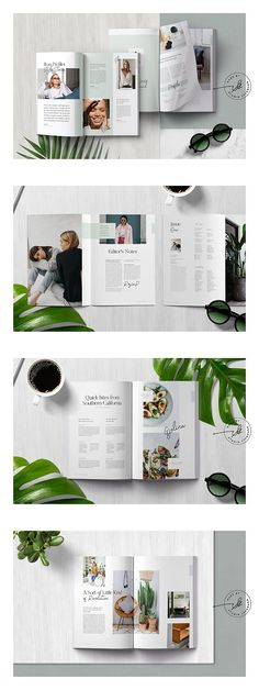 FIFTH Magazine is a beautifully designed magazine template for use with Adobe Indesign. The magazine features modern layouts with details like automatic page Food Magazine Layout, Magazine Layout Design, Book Design Layout, Print Layout, Editorial Layout, Editorial Design, Coffee Table Book Layout, Booklet Template, Brochure Template