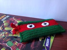 Ninja Turtle Pencil Bag