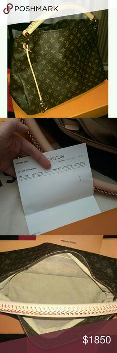 What To Include In An Invoice Pdf Louis Vuitton Artsy Mm Bag  Louis Vuitton Artsy Mm Louis Vuitton  Invoice For Work Word with Not Registered For Gst Invoice  Louis Vuitton Artsy Mm Comes Wirh Box Dust Bag And Original Receipts  Purchased October Rd  Downtown Chicago For   Paypal  Invoice  Invoicing Software Pdf