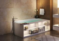ᐈLuxury 【Aquatica Storage Lovers Freestanding Solid Surface Bathtub】 for sale in the ⭐ Aquatica ⭐ Online Store ✅ The best prices - ✅ Made in EU ✅ Only the best materials ✅ Up to 25 year warranty Bathroom Cabinets, Bathroom Furniture, Bathroom Storage, Furniture Sets, Bathroom Vanities, Bathroom Ideas, Washroom, Bathroom Styling, Modern Bathroom
