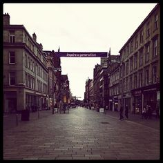 empty buchanan street by @ijusty