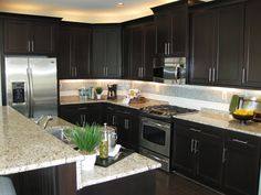 Kitchens - Home Trimwork - Picasa Web Albums Really like the dual level counter tops on the island.