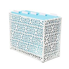 apartment therapy link to cute file boxes. fav.