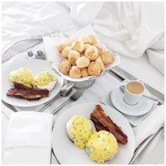 When these two worlds collide, it makes one hella good start to the day! #breakfastinbed