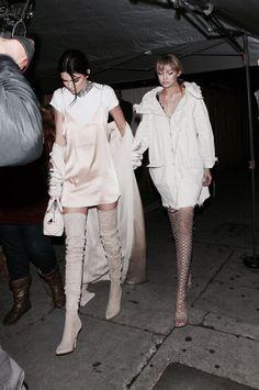 pinterest | bellloneil | Kendall Jenner and Gigi Hadid