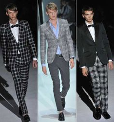 #mens #PLAID! this is bold, and so handsome.