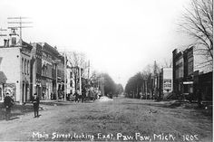 Paw Paw, MI circa 1908