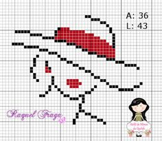 punto croce home Small Cross Stitch, Beaded Cross Stitch, Cross Stitch Borders, Modern Cross Stitch Patterns, Cross Stitch Designs, Cross Stitch Silhouette, Hand Embroidery Stitches, Sgraffito, Tapestry Crochet