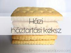 Háztartási keksz házilag – Én és két kicsi… Izu, Vanilla Cake, Fudge, Desserts, Food, Cooking Ideas, Tailgate Desserts, Deserts, Eten
