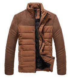 $22.08 suede splicing jacket