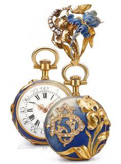 Antique Swiss Golden pocket Watch, 1910.                                                                                                                                                                                 More