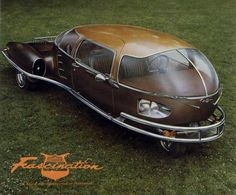 Wow this is odd! I would like to sit in this. It must give great visibility!