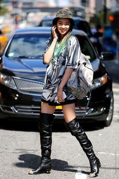Irene Kim #streetstyle #irenekim @Ireneisgood photo by #stefanocoletti #thestreetfashion5xpro stefano coletti photographer