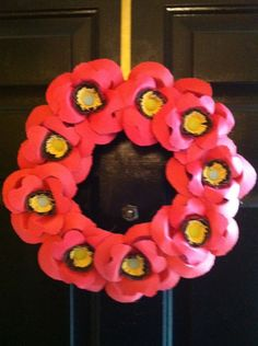 1Q wreath.  I can use my flowers cart