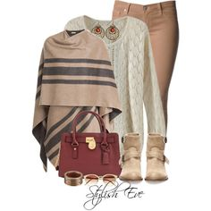 #outfit #outfits #striped #maroon #bag #bags #love #awesome #jumper #boot #cab #stripedcab #sunglases #bracelet #earring #earrings