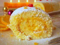 biscuit roulé crème a l'orange