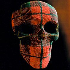 Artist David Mach creates amazing sculptures using matchsticks. He has been building matchstick sculptures for over 30 years. Real Human Skull, Michael Fisher, Skull And Bones, Skull Art, Skull Decor, Memento Mori, Betty Boop, Creative Art, Pop Art