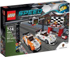 Lego Speed Champions Porsche 911 GT Finishing Line 75912