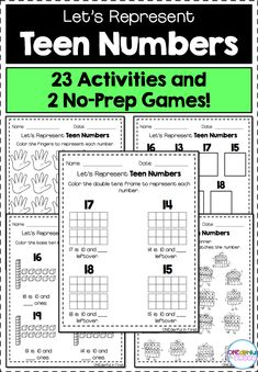 How To Circumvent IP Possession Concerns Every Time A Strategic Alliance, Three Way Partnership Or Collaboration Fails 23 Activities And 2 No-Prep Games For Representing Teen Numbers Perfect For Small Math Groups, Whole Group, And Math Centers Science Resources, Math Activities, Teacher Resources, Classroom Resources, Teaching Ideas, Creative Teaching, First Grade Math, Second Grade, Teen Numbers