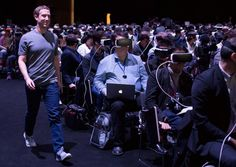Mark Zuckerberg joined Samsung in Barcelona yesterday at their launch event for their new Galaxy smartphone to talk about virtual reality Vr Headset, Virtual Reality Headset, Augmented Reality, Enter The Void, Latest Smartphones, Galaxy S7, Samsung Galaxy, Galaxy Smartphone, Sci Fi Movies